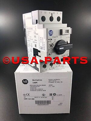 Allen Bradley 140M-C2E-B40 *New In Box* (Ships Same Day)