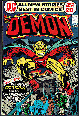 THE DEMON  1  NM-/9.2  - 1st appearance of the Demon! Beautiful high-grade copy!
