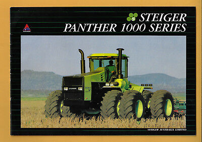 Steiger 4Wd Panther 1000 Series 24 Page Brochure