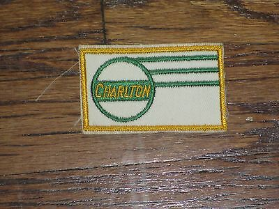 trucking patch, charlton,60's  new old stock.