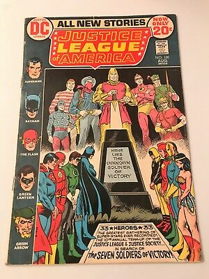 Justice League of America - No. 100 - DC August 1972 VG