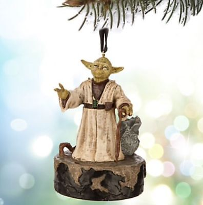 Disney Star Wars Talking Yoda Sketchbook Christmas Ornament New With Tags !!!