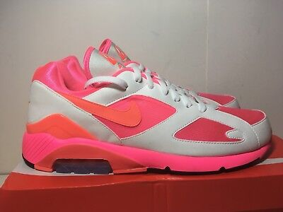 77461c042df3 IN HAND! COMME Des Garcons NIKE AIR MAX 180 CDG White Pink US 12 ...