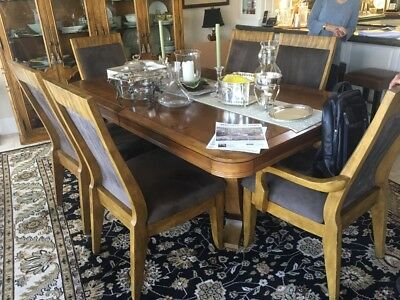 Formal Dining Room Table & Chairs Set