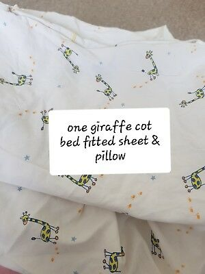 Cot bedding / Single Duvet covers / assorted cot fitted sheets