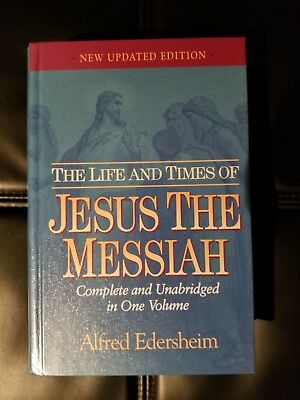 The Life And Times Of Jesus The Messiah - Edersheim, Alfred - New Hardcover Book
