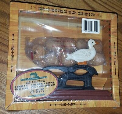 Old Fashioned cast iron nut cracker 2006 Duck
