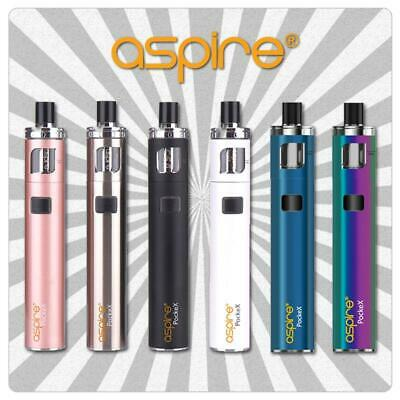 Aspire PockeX / Pocket X AIO Kit E-Zigarette Starterset All-in-One 1500 mAh 2 ml