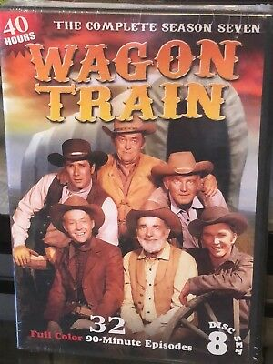 Wagon Train - The Complete Season Seven (DVD) Full Color! 32 Episodes! 40 Hours!