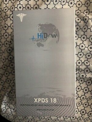 HiDow XPDS 18 pain reliever  and muscle stimulator