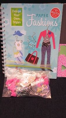 Make Your Own Paper Fashion Template Book Arts And Craft Book Dresses Pants Tops