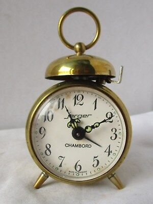 Tiny Little Alarm Clock with Bells from JERGER - CHAMBORD