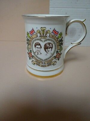 Royal Wedding Mug  .Prince Charles & Lady Diana Spencer .Hammersley bone china