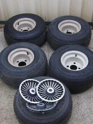 Golf Cart wheels and tyres x 5