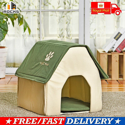 Removable Polyester Pet Dog / Cat House Kennel Bed Durable Plastic Winter House