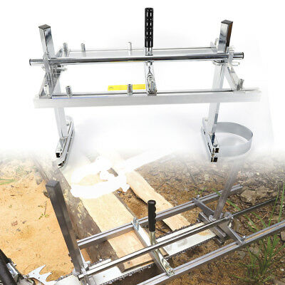 Portable Chainsaw Chain Saw Mill Planking Timber Milling Bar Size 14'' to 24''