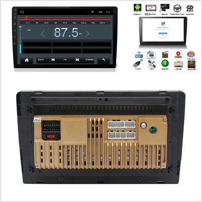 10.1'' Touch Screen Car Android Bluetooth Stereo 2 DIN MP5 Player GPS Navigation