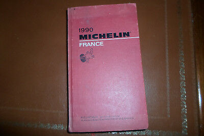 Guide Michelin Rouge  1990