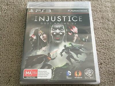 Injustice: Gods Among Us PLAYSTATION 3 PS3 Game Brand New In Stock Brisbane