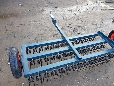 Agri-Fabs  Atv Quad 4X4 3 Bar Spring Tine Harrow Equestrian Farm Agricultural