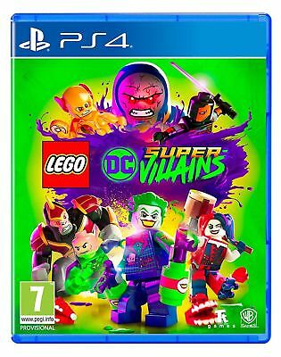 Lego DC Super Villains (PS4) New & Sealed Fast Free UK P&P