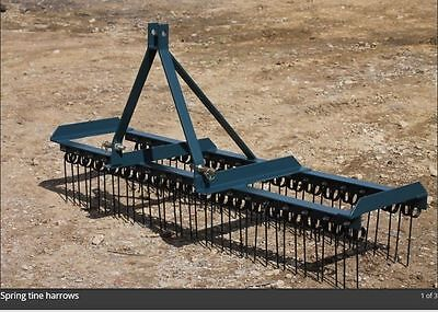 Smallholder Package 3pl Spring Tine Harrow & Bale Spike & Forkset