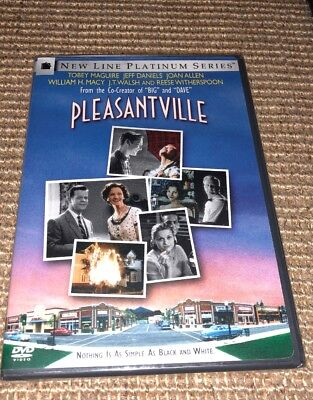 Pleasantville (DVD, 1999) Brand New Sealed •USA•Out-of-Print• Reese Witherspoon