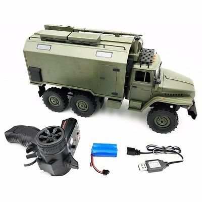 WPL B36 Ural 1/16 Kit 2.4G 6WD RC Car Electric Off-Road Military Truck Army RTR