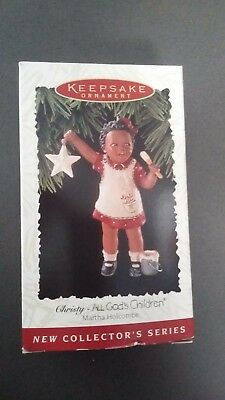 All Gods Children Miss Martha Holcombe CHRISTY 1996 HALLMARK Ornament