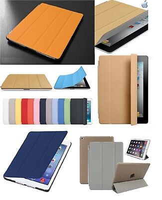 """Magnetic Smart Leather Stand Cover Case Fits Apple iPad 6th Generation 9.7"""" 2018"""