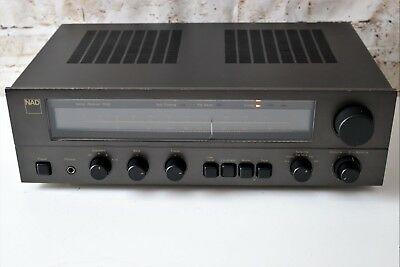 NAD 7020 Integrated Amplifier with phono/AM-FM Tuner Stereo Receiver.