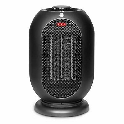 MRMIKKI 1200W/700W Space Heater for Office and Home, PTC Ceramic Portable Desk H