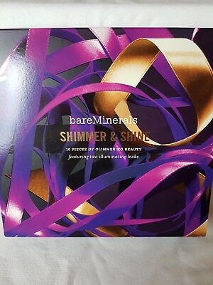 Bareminerals Shimmer & Shine Make Up Collection NEW IN BOX