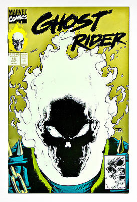 Ghost Rider #15 – July 1991 Gold 2Nd Print Glow In The Dark Cover – Marvel Nm