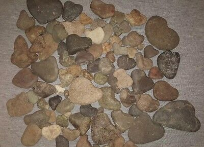 Heart Shaped rock lot(not so perfect)