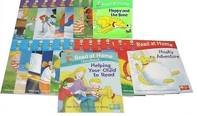 NEW SET of  22 x OXFORD READING TREE stage 1 2 3 4 READ AT HOME & handbook