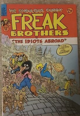 The Fabulous Furry Freak Brothers #8 Rip Off Press