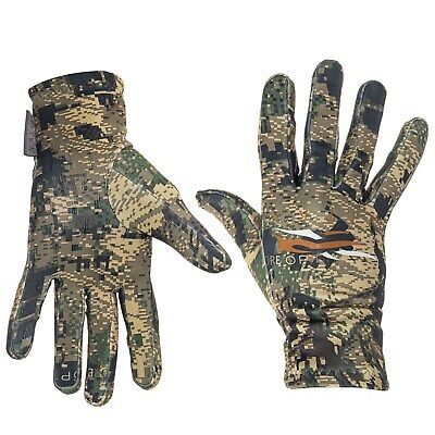 Sitka Traverse Gloves Brushed Carbon Fiber Optifade Ground Forest Camo - NEW!