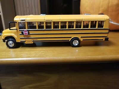 TOY THOMAS BUILT Freightliner School Bus