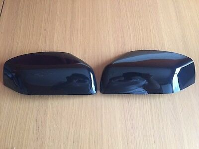 Gloss Black Half Wing Mirror Covers Range Rover Sport Vogue L322 Discovery Free2