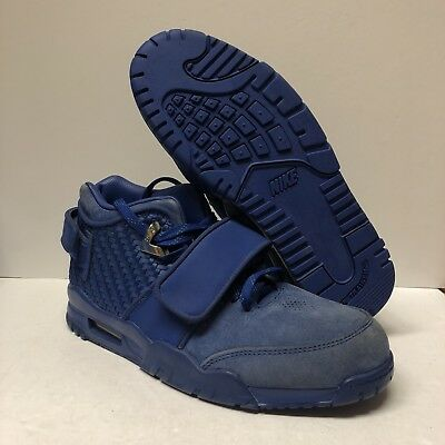 best sneakers 09b57 70127 Authentic Nike Air Trainer Victor Cruz Size 8.5 Blue Suede (NO BOX) Read
