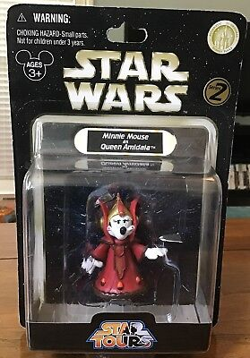 Disney Parks Star Tours Star Wars Series 2 Minnie Mouse as Amidala Action Figure