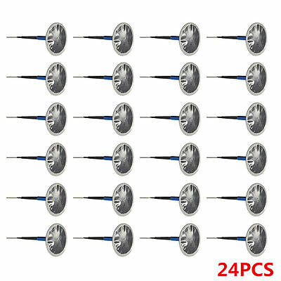 24PCs Car Truck Tire Tyre Puncture Repair Wired 6mm Mushroom Plug Patch TS