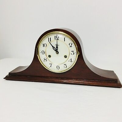 Vintage Ridgeway Quarter Strike Westminster Mantel Clock Germany Repair Parts