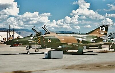 Original Slide USAF McDonnell F-4E 68-0531 CN 3730 20 TFS 49 TFW air Force