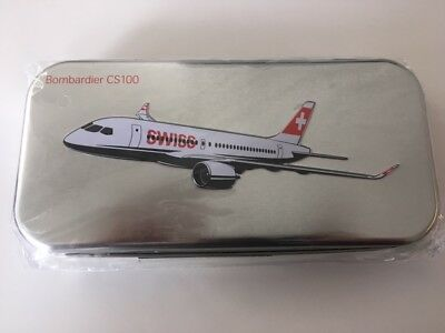 Swiss Bombardier CS100 Business Class Amenity Kit, OVP Sonderedition ungeöffnet