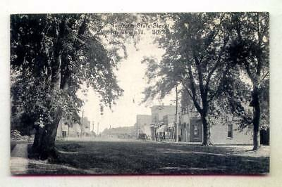 North On State Street Atkinson ILLINOIS *OLD EARLY C. R. Childs B/W*