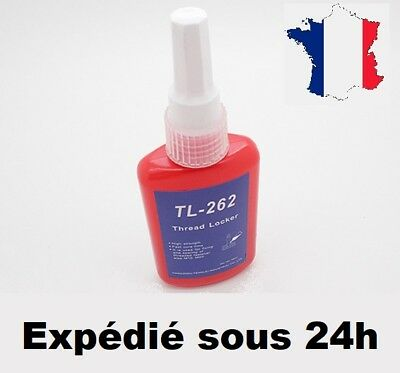"""Frein filet 262 Rouge """"Fort""""  50ml Stock Fr equivalent gamme Loctite"""