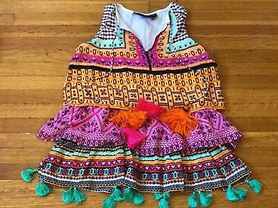 2 Kids Hemant & Nandita high fashioned  toddler dresses in sizes 4Y
