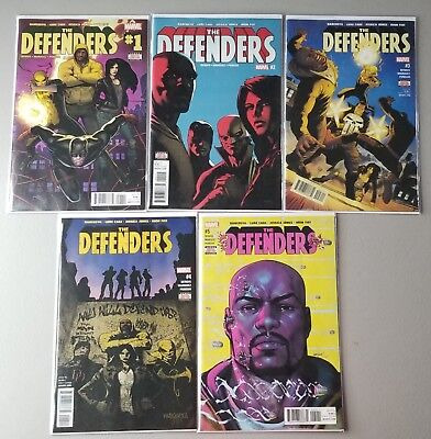 The Defenders Full Comic Run 1-10 (Daredevil Luke Cage Jessica Jones Iron Fist